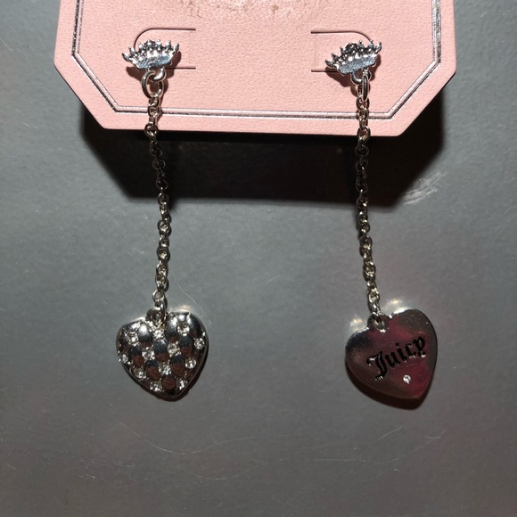 NWT Rare Juicy Couture Drop Earrings